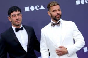 Ricky Martin and his husband Jwan Yosef.
